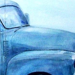 Art: Broken down old Chevy Truck by Artist Ulrike 'Ricky' Martin