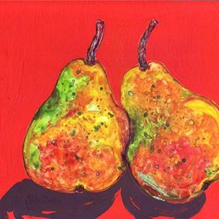 Art: Pair of Pears by Artist Ulrike 'Ricky' Martin