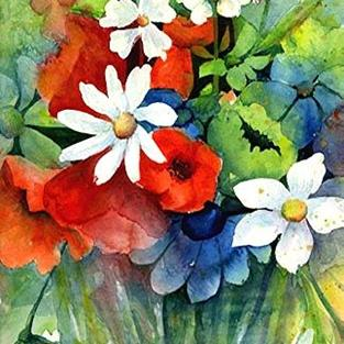 Art: Fresh as Daisies by Artist Ulrike 'Ricky' Martin