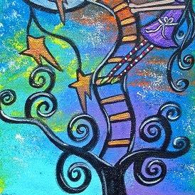Art: The Dream Tree by Artist Juli Cady Ryan