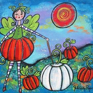 Art: The Pumpkin Fairy by Artist Juli Cady Ryan