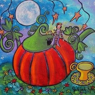 Art: Autumn Tea by Artist Juli Cady Ryan