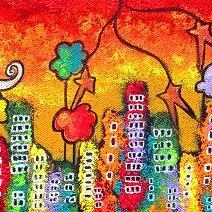 Art: Autumn in the City by Artist Juli Cady Ryan