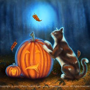 Art: Pumpkin's Bane by Artist Tiffany Toland-Scott