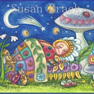 Art: LADYBUG DREAMS by Artist Susan Brack