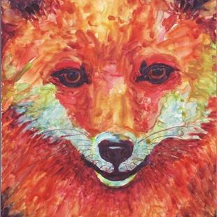 Art: Red Fox - available in my Etsy store by Artist Ulrike 'Ricky' Martin