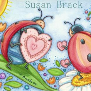 Art: LOVE BUGS by Artist Susan Brack