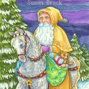 Art: WINTERS JOURNEY by Artist Susan Brack