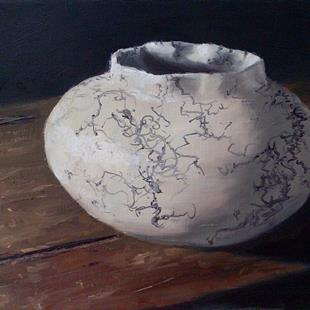 Art: Vail Native American Pot by Artist Kimberly Vanlandingham