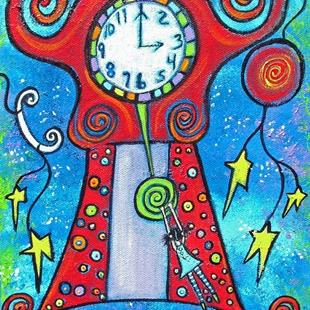 Art: Stopping Time by Artist Juli Cady Ryan