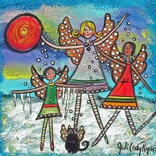 Art: Winter Fairies by Artist Juli Cady Ryan