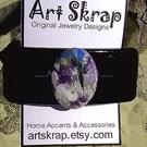 Art: Art Skrap Barrette 8 by Artist Windi Rosson