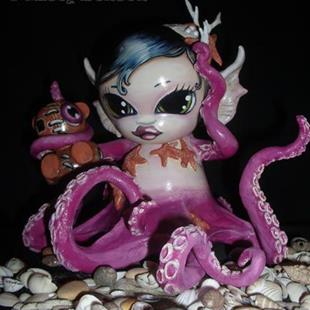 Art: Morbidly Adorable Octo-Munny by Artist Misty Monster (Benson)