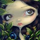 Art: Poisonous Beauties 1 : Belladonna by Artist Jasmine Ann Becket-Griffith