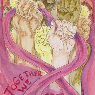 Art: Together We Are Powerful by Artist Kim Loberg