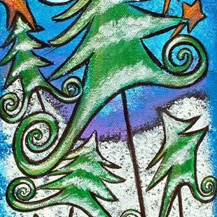Art: Dance Of the Evergreens by Artist Juli Cady Ryan