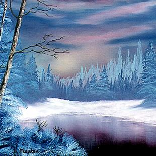 Art: Winter Twilight by Artist Deanne Flouton