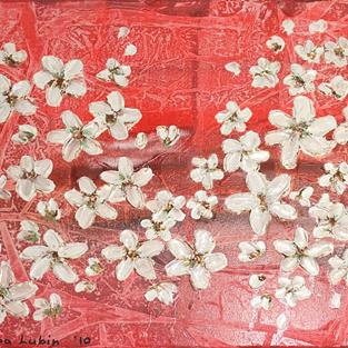 Art: Spring flowering (s) by Artist Luba Lubin