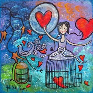 Art: Freeing My Heart by Artist Juli Cady Ryan