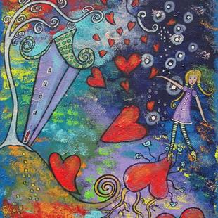 Art: The Outpouring Of Love by Artist Juli Cady Ryan