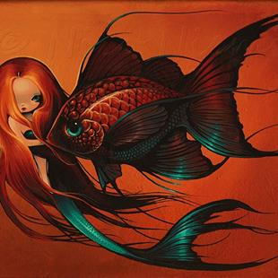 Art: My Fish by Artist Nico Niemi