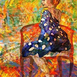 Art: Indian Summer by Artist Mary Ogle
