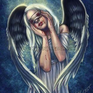 Art: The Wounded Angel by Artist Tiffany Toland-Scott