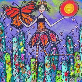 Art: The Magical Monarch by Artist Juli Cady Ryan