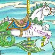 Art: Lucky Clover Sea Horse Carousel - SOLD by Artist Kim Loberg