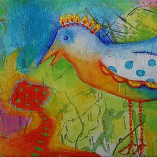 Art: Oiseau by Artist Deb Harvey
