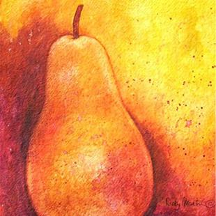 Art: Luminous Pear ( available in my etsy store ) by Artist Ulrike 'Ricky' Martin
