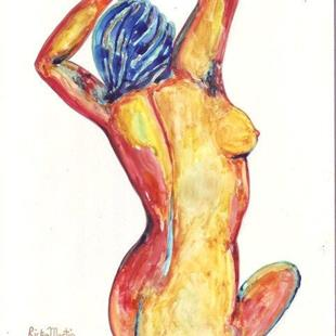 Art: Nude (sold) by Artist Ulrike 'Ricky' Martin