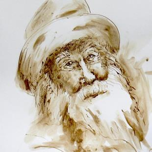 Art: Walt Whitman, beloved poet by Artist Naquaiya