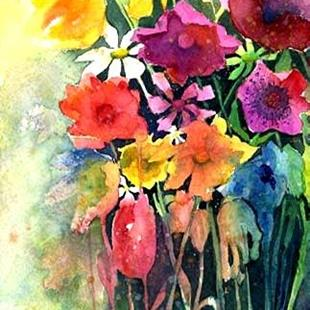 Art: Mother's Day Bouquet - sold by Artist Ulrike 'Ricky' Martin