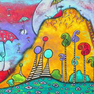 Art: At the Top Of Magic Mountain by Artist Juli Cady Ryan