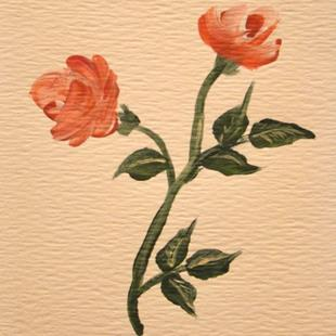 Art: Roses by Artist Leea Baltes
