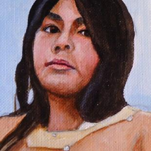 Art: Apache Dancer #3 by Artist Kathy Hatt