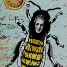 Art: Bee The Timekeeper-Sold by Artist Sherry Key
