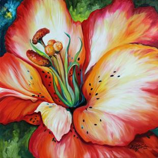 Art: LILY BLOSSOM by Artist Marcia Baldwin