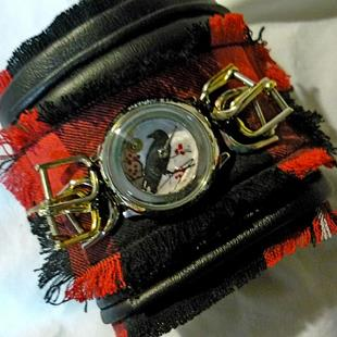 Art: RAVEN CUFF sold by Artist Vicky Helms