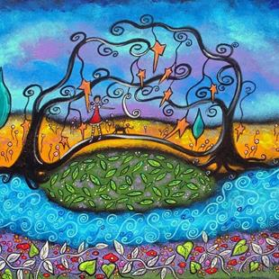 Art: My Bridge Over Troubled Waters by Artist Juli Cady Ryan