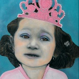 Art: Little Princess-Sold by Artist Sherry Key