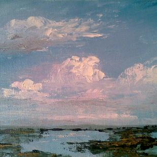 Art: Clouds Before Dusk, FL by Artist Kimberly Vanlandingham