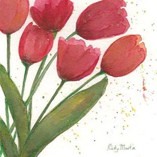 Art: Tulips - available in my etsy store by Artist Ulrike 'Ricky' Martin
