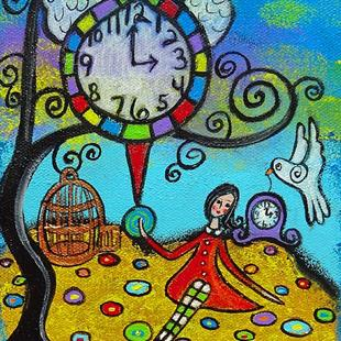 Art: Time Does Fly II by Artist Juli Cady Ryan