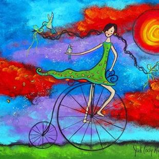 Art: The Magical Ride II by Artist Juli Cady Ryan