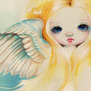 Art: Soft Wings by Artist Nico Niemi