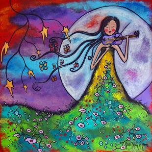 Art: Meadow Music by Artist Juli Cady Ryan