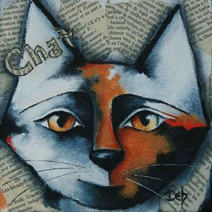 Art: Chat by Artist Deb Harvey