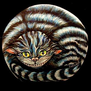 Art: The Cheshire Cat by Artist Patience